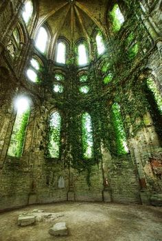 When a place is abandon it is for a could cause. It is haunted. Spirits live there when they feel it belongs to them. There comes a cold feeling that just hits you and you feel cold in a very warm room. Without mystery life would be boring.  The Incensewoman