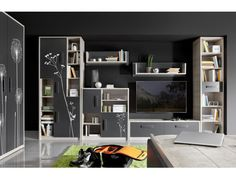 Entertainment Unit for TVs up to dCor design Shelving, Lockers, Locker Storage, Bookcase, Entryway, Cabinet, Furniture, Home Decor, Heart