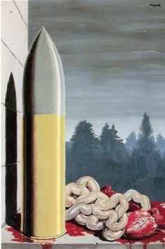 Rene Magritte - The Witness, 1938 More Pins Like This At FOSTERGINGER @ Pinterest