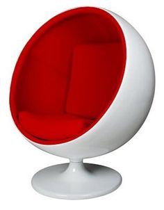 Ball chair by Eero Aarnio Finland Ball Chair, Egg Chair, Milan Design, Cool Chairs, Furniture Sale, To My Daughter, Finland, Artsy, Home And Garden