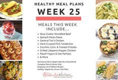 Healthy Meal Planning Made Easy & Week 25 Meal Plan