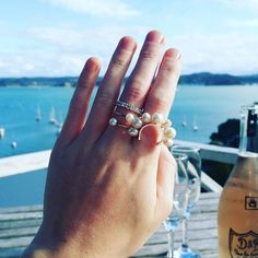 In love with Russell, New Zealand   #newzealand #russell #view #ocean #boats #sail #sailing #travel #seaside #sea #bluesky #jewellery #jewelry #pearls #diamonds #jeweller #deck #sun #sky #freshwaterpearls #silver #gold #whitegold #champagne #dandb #birdinhand #pourlesamour #sarahgreenfinejewellery