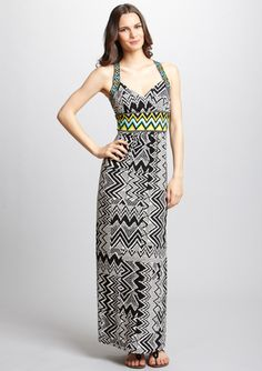 LONDON TIMES V-Neck Cross Back Maxi Dress.....just bought this on SALE!!!