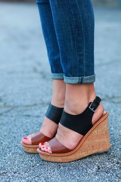 #colorblock wedges