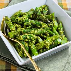 Twenty Favorite Asparagus Recipes from Kalyn's Kitchen (plus many more recipes from my friends) [from KalynsKitchen.com]