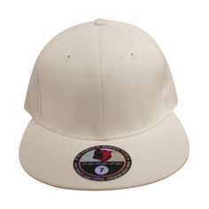 Loyal Cloth Cotton White Fitted Cap