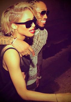 Ciara and her Bay Bay Future Loven it <3<3