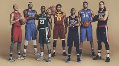 Draymond Green, Karl-Anthony Towns and more got to play dress up and relive their college days, thanks to Nike.