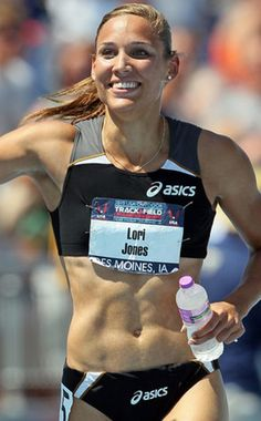 Lori Lolo Jones, track and field Olympian for the London games.