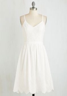 Affable Aura Dress, Source by sundress outfit Pretty Outfits, Pretty Dresses, Cute Outfits, Mod Dress, Dress Skirt, Little White Dresses, White Dress Casual, White Sundress Outfit, White Summer Dresses