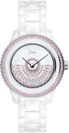 76a14e011d781e La Cote des Montres   La montre Dior VIII Grand Bal modèle « Résille » en