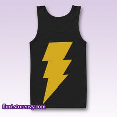 CAPTAIN SHAZAM Superhero Comics Tank Top Sleeveless Women it's take time 4-5 Days for Handling Time  Sizes:Unisex, S, M, L, XL, 2XL. Our sizes of Sleeveless Tank Top are one size smaller than American/ European/Australian/New Zealand sizes,so order one size larger or calculate your size from t...