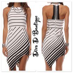 Final Saleasymmetrical Summer Dress