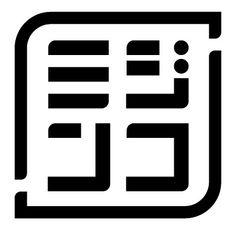 クリエイティブユニット「ミジンコ」の公式ロゴです