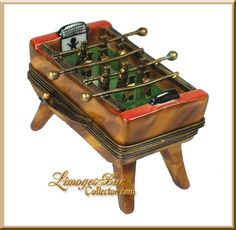 Foosball Table Limoges Box