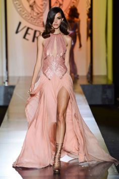 Versace Fall 2012 Couture Runway - Versace Haute Couture Collection