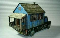 The Redneck Motor Home by Papermau FREE SITE