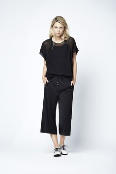 Bloom kimono top with Luka culottes. Fashion // clothing // woman // inspiration // www.dante6.com