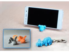 I introduce you to two more animals keychains for use with your smartphone. Small, practical and fun keychain with different forms of animals. In addition making a keychain, you can use it to stand the smartphone. https://youtu.be/l-9AErgYxBw I used this filament: http://recreus.com/es/ Download other animals here: http://www.thingiverse.com/thing:1587568 Download Bat Keychain: http://www.thingiverse.com/thing:1843400