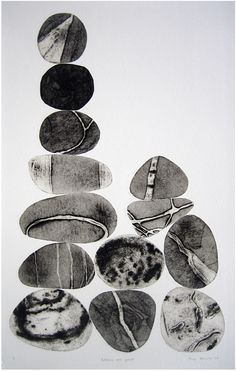 gacougnol Tessa Horrocks Pebbles are Great (Sepia passionatephilocalist is part of Tessa Horrocks London Printmaking Artist - gacougnol Tessa Horrocks Pebbles are Great (Sepia series) Collagraph (via howtocatchanoctopussy) Art And Illustration, Medical Illustration, Illustrations Posters, Gravure, Art Plastique, Textures Patterns, Art Inspo, Art Projects, Abstract Art