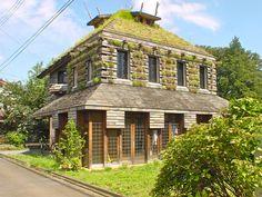 Tanpopo (Dandelion) House, Terunobu Fujimori. 藤森照信