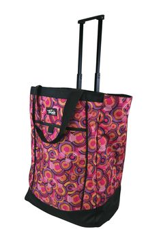 """Olympia Deluxe Rolling Medical Symbols /""""Nurse/"""" Tote Case 2 Color Choices!"""