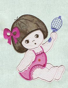 Baby Applique - Free Instant Machine Embroidery Designs