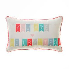 Adairs Kids Inspire Lovliest - Home & Gifts Cushions - Adairs Kids online Big Girl Bedrooms, Kids Bedroom, Kids Rooms, Kids Floor Cushions, You Make Beautiful Things, Adairs Kids, Dream Kids, Kids Inspire, Colorful Pillows