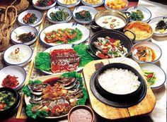 comida corea del sur - Buscar con Google