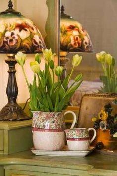 Cuadro Yellow Tulips II