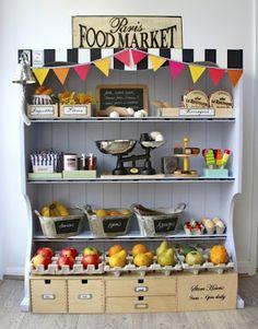Lil Market for Eden's Parisian cafe. Someday!