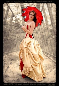 This would be delightful for both Steampunk and Circus theme weddings