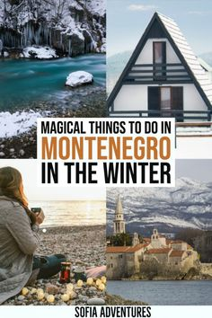 Want to visit Montenegro in winter? This guide to the best things to do in Montenegro covers where to ski in Montenegro, what to do in Budva and Kotor in winter, and where to stay in Montenegro in winter. Full of winter activities in Montenegro! Winter Hiking, Winter Camping, Winter Travel, Travel Insurance Quotes, Montenegro Travel, Stuff To Do, Things To Do, Mountain Resort, Winter Activities