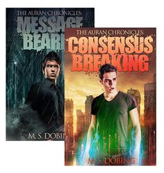 My Thoughts: Firstly, read this blog 'Message Bearer (The Auran Chronicles Book 1) by M. S. Dobing', Second, check out this interview with M. S. Dobing, And third, wow, Consensus Breaki…