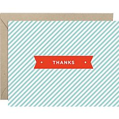thanks you notes // Paper Source