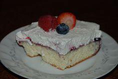 Angel's Berry Cake~  THM (S)