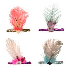 Tutu du Monde I Feather headbands  http://www.orfeodesign.com/index.php?cPath=1_119
