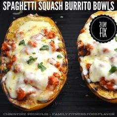21 Day Fix spaghetti squash Mexican recipe.