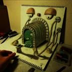 3D Illustrations by Nagai Hideyuki