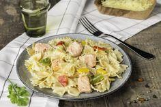One pot pasta au saumon et trois poivrons Cookeo