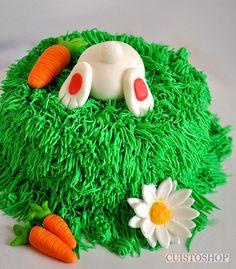 Tuto gâteau Lapin - vidéo