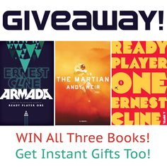 #Win It! Ernest Cline + Andy Weir #ScienceFiction #Book #Giveaway