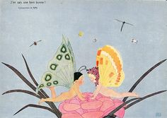 Illustration by Jean Ray, 1913. From Fantasio
