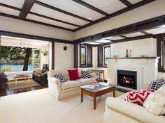 Tudor modern living room Tudor, Modern Living, Dream Homes, Living Room, Bedroom, Street, Interior, House, Indoor