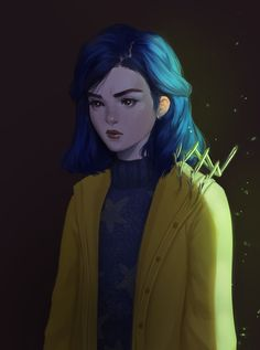 "milk-sprain: ""coraline, the coolest girl on the block "" Coraline Drawing, Coraline Movie, Coraline Jones, Cute Couple Comics, Couples Comics, Coraline Aesthetic, Laika Studios, Tim Burton Characters, Fall Wallpaper"