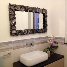 CORNICE Specchio FERRO BATTUTO con o senza LED . compatibile Alexa Google . 850 Led, Venetian Mirrors, Wrought Iron, Creations, Ebay, Furniture, Design, Home Decor, Google