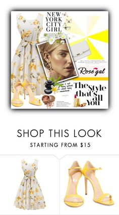 """""""Shine Bright!"""" by bryleq4484 ❤ liked on Polyvore featuring Casadei, H&M and Avon"""