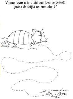 Atividades pontilhadas para educação infantil para imprimir - Como Faço Preschool Kindergarten, Preschool Activities, Pre Writing, Pre School, Homeschool, Snoopy, Kids Rugs, Education, Children