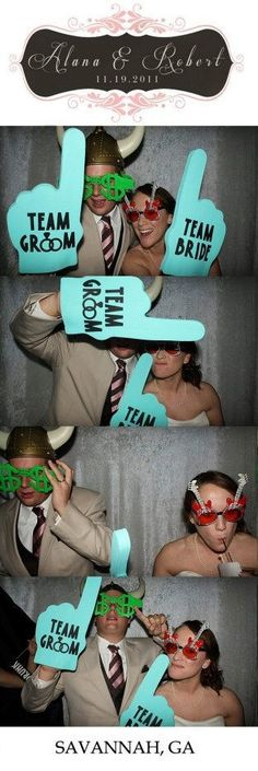 love the idea for photo booths...