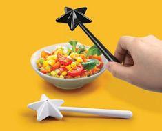 Magic wand salt and pepper shakers!